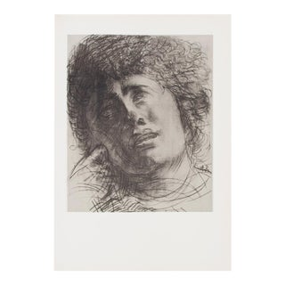 """1959 Auguste Rodin """"""""Study for the Head of Madame Severine"""", Hungarian Photogravure For Sale"""