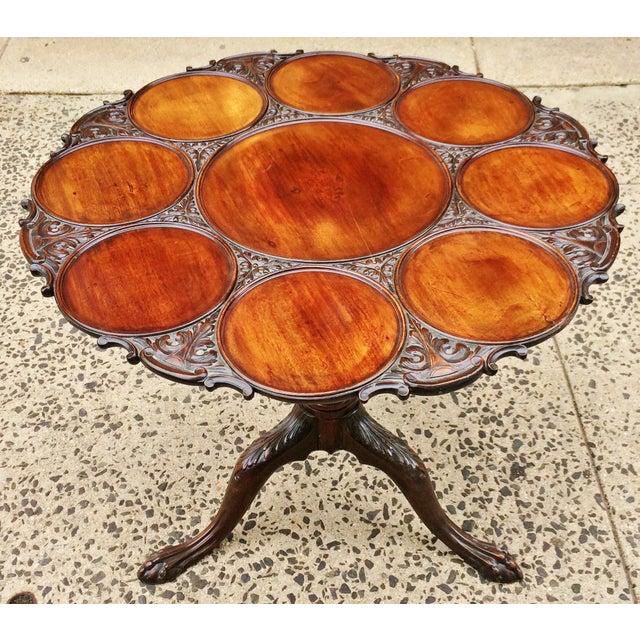 19th Century Georgian Mahogany Tilt-Top Breakfast Table For Sale - Image 13 of 13