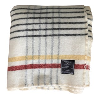 Faribault for WestElm Plaid Wool Blanket