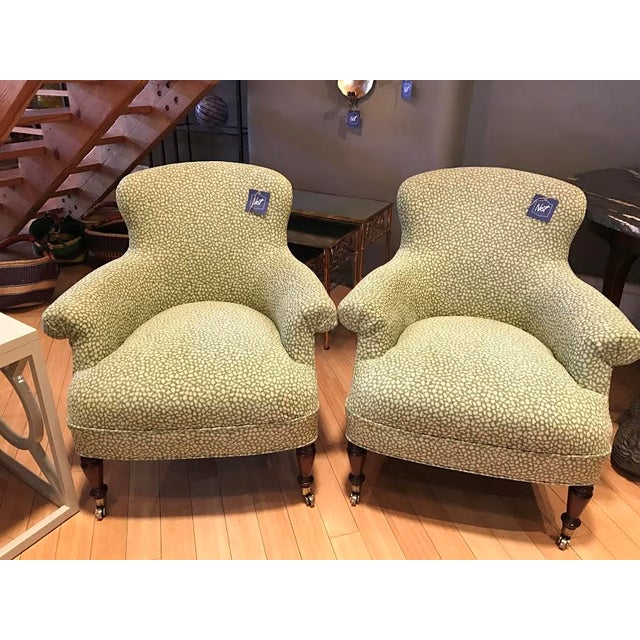 Ralph Lauren Arm Chairs - Pair - Image 2 of 5