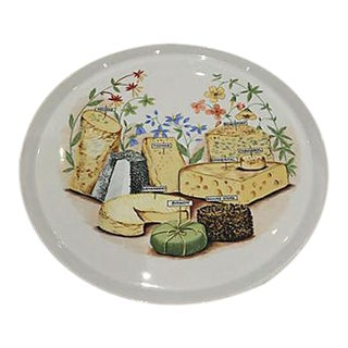 French Cheese Serving Platter