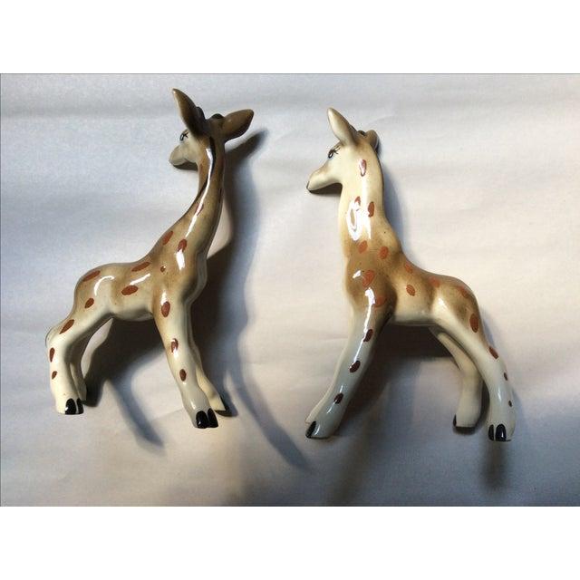 Giraffe Figurines - A Pair - Image 4 of 8