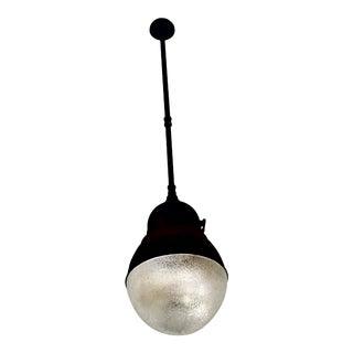Early 20th Century Vintage Philadelphia Holophane Black Light For Sale