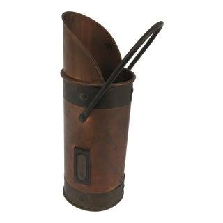 Vintage Copper & Brass Matchstick Holder