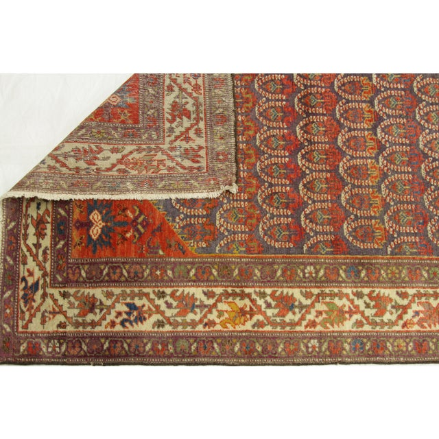 1920's Twin Antique Persian Rug Malayer Design Circa 1920's - 3′5″ × 19′8″ For Sale - Image 9 of 11