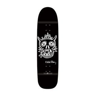 Keith Haring Black Skate Deck