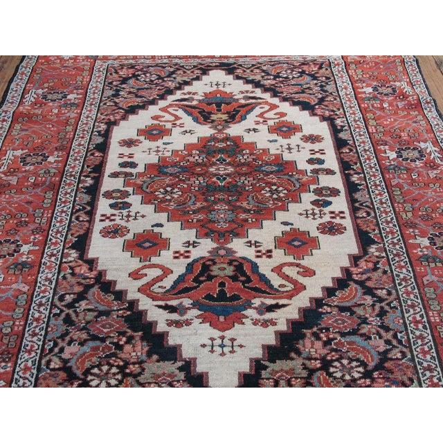 Traditional Antique Karadja Rug For Sale - Image 3 of 9