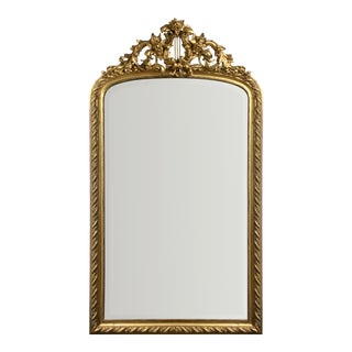 Antique French Gilt Mirror For Sale
