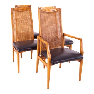 Drexel Heritage Mid Century Dining Chairs - Set of 4 For Sale