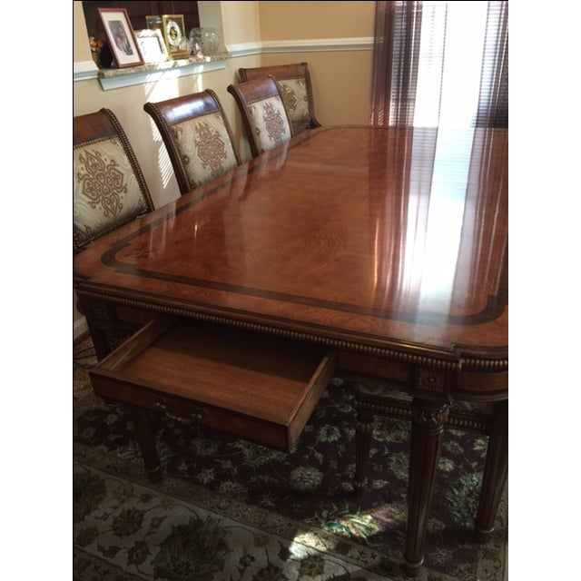 Transitional Style Dining Set - Image 4 of 11