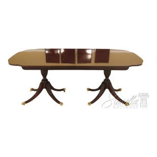 Traditional Kindel Winterthur Collection Mahogany Dining Room Table For Sale