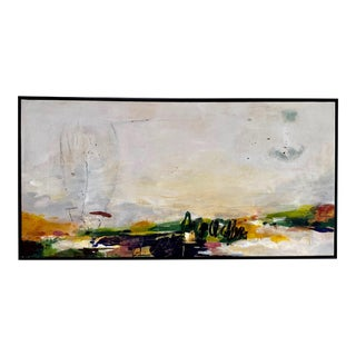 """Large Original Abstract Painting Titled """"Again October"""" For Sale"""