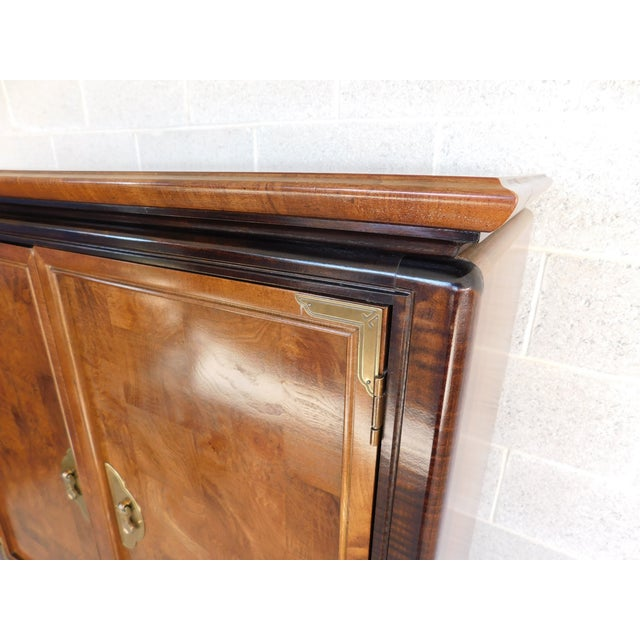 """Wood Broyhill Premier """"Ming"""" Collection Armoire / Chest For Sale - Image 7 of 13"""