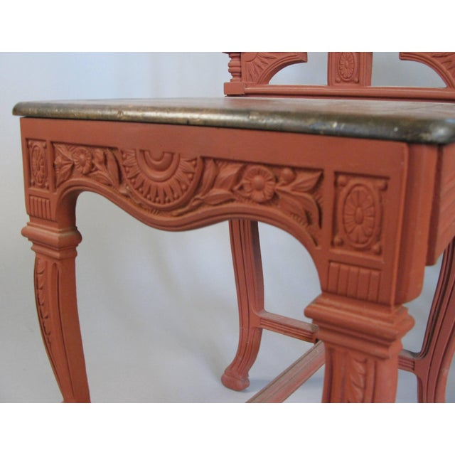 Pair of 19th Century English Cast Iron Chairs For Sale - Image 4 of 9