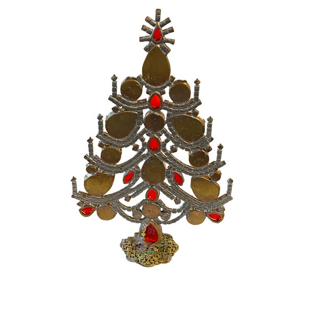 Czech Rhinestone Christmas Tree For Sale In Dallas - Image 6 of 7