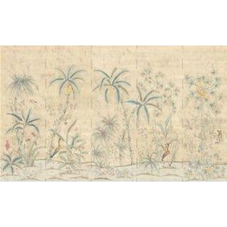 "Casa Cosima Maya Antiqued Wallpaper Mural - 5 Panels 180"" W X 108"" H For Sale"