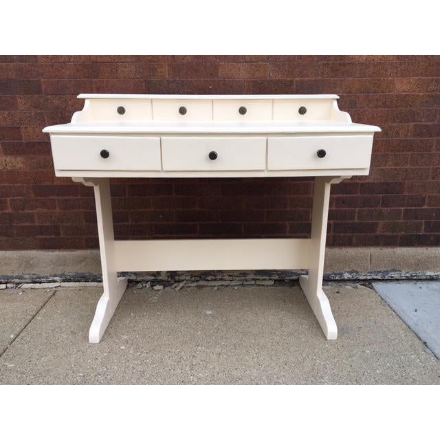 Vintage Painted Writing Desk - Image 2 of 6