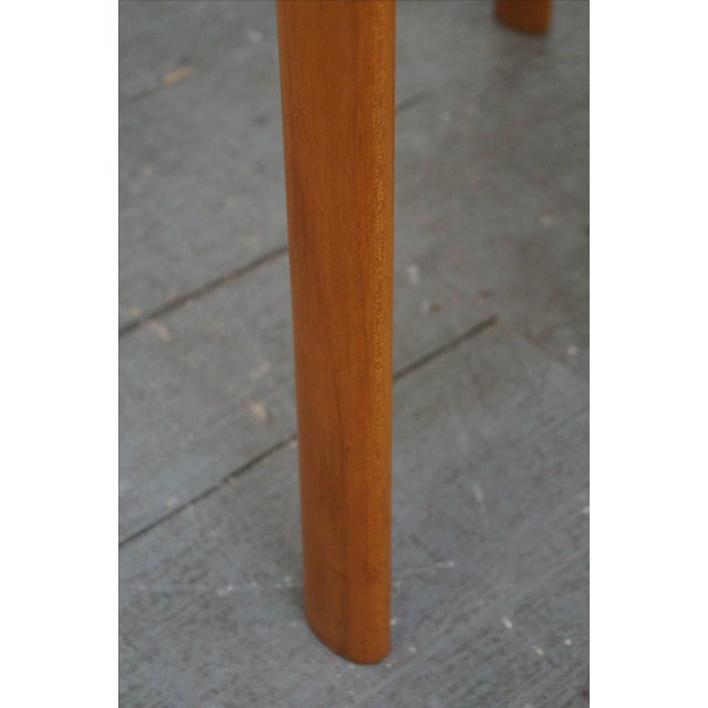 Danish Modern Teak Arm Chairs - Pair For Sale In Philadelphia - Image 6 of 9