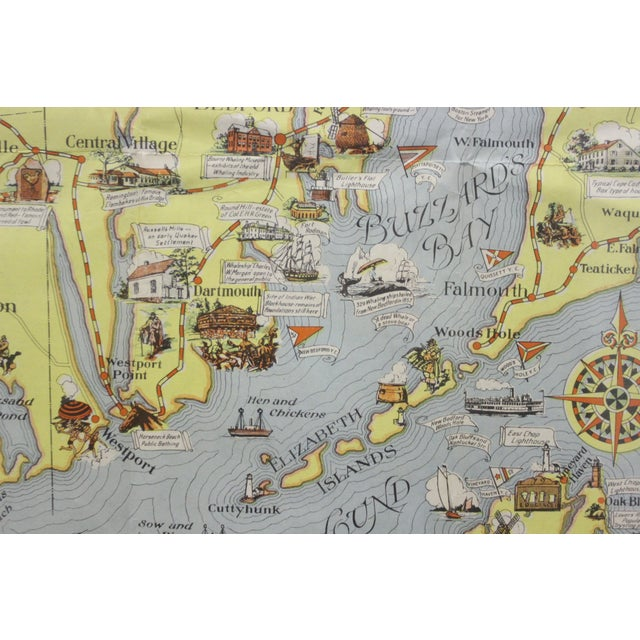 Rhode Island Map, 1933 For Sale - Image 4 of 7