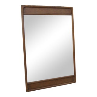Mid Century Modern Wall Bathroom Vanity Mirror by American of Martinsville For Sale