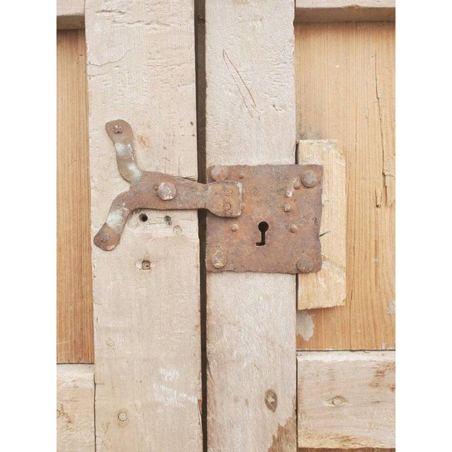 Rustic 19th Century Mexican Architectural Window - a Pair For Sale - Image 4 of 10