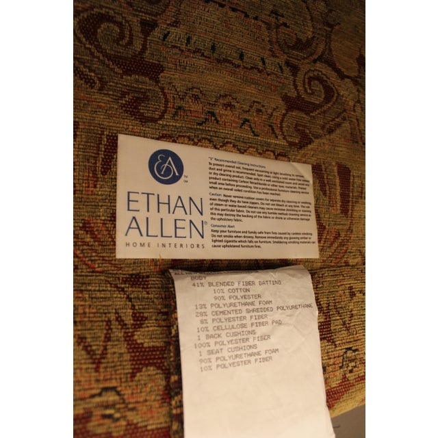 Ethan Allen French Country Lounge Chairs - A Pair - Image 11 of 11