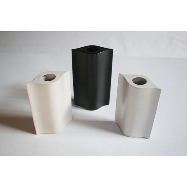 Modern Mikasa La Ronda Alba Vases, Set of 3 For Sale - Image 3 of 7