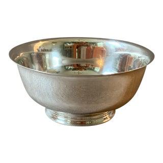 """Vintage Sterling Silver 6"""" Revere Bowl For Sale"""