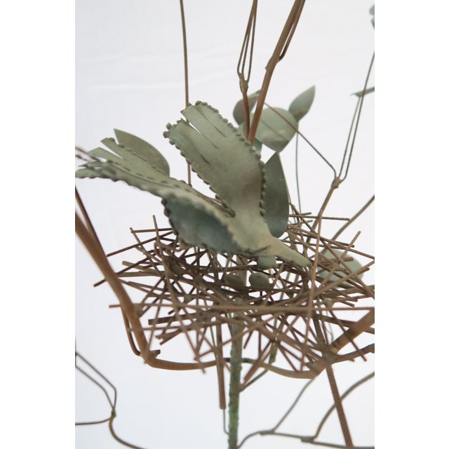 Brutalist Jeré Metal Tree Sculpture For Sale - Image 3 of 7
