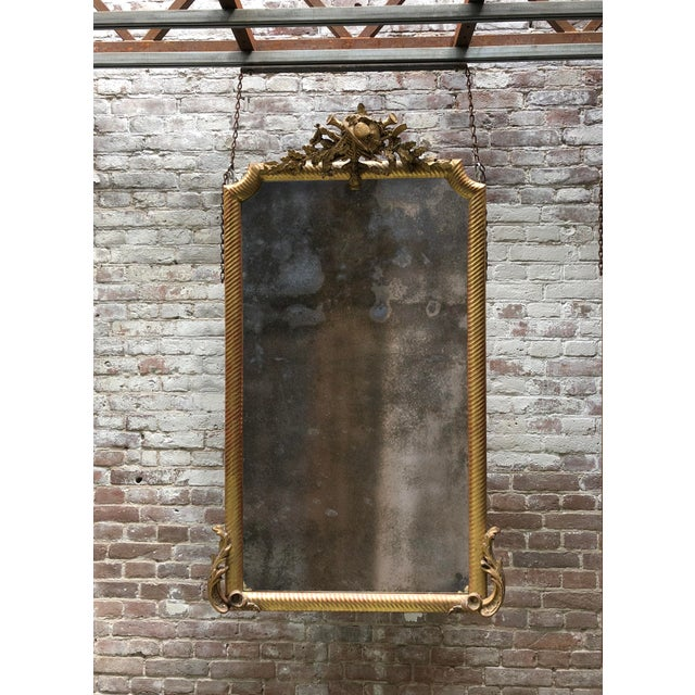 19th Century Mirror For Sale - Image 6 of 7