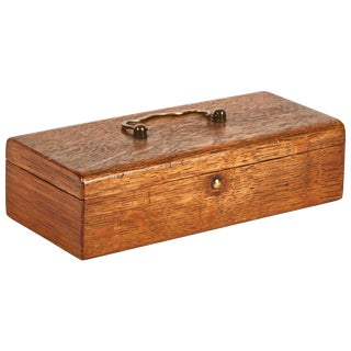 Small Storage Box for Glasses From Late 19th Century England For Sale