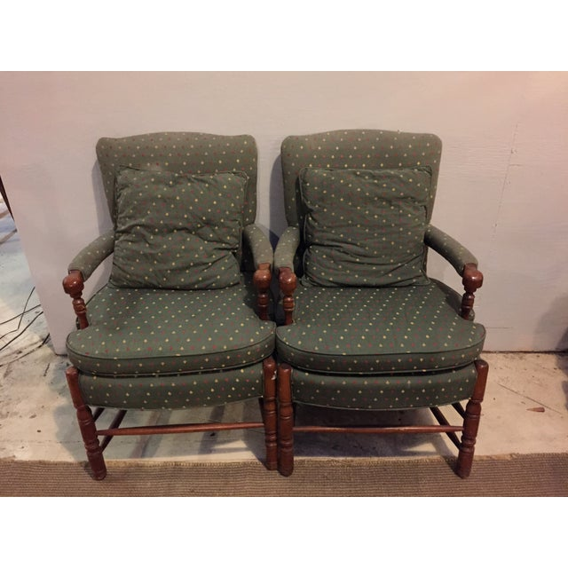 Mid-Century French Club Armchairs - Set of 4 - Image 3 of 10
