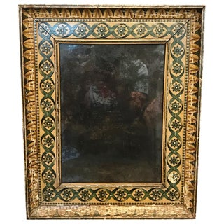 19th Century Regency Painted Mirror For Sale