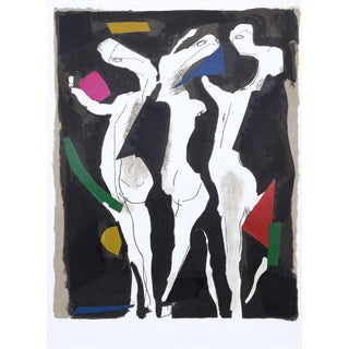 Marino Marini Le Sacre Du Printemps Lithograph For Sale