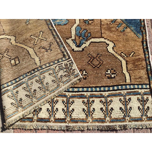 Vintage Hand Knotted Anatolian Rug For Sale - Image 11 of 12