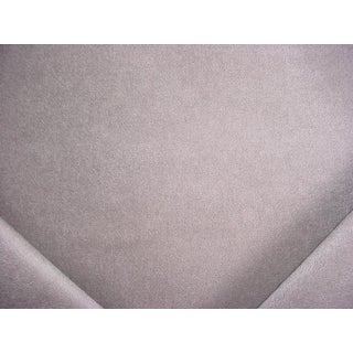 Traditional Beacon Hill Karoo Mohair Velvet Warm Gray Grey Upholstery Fabric - 12-5/8y For Sale