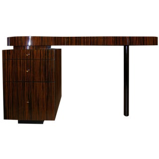 Macassar Ebony Desk For Sale