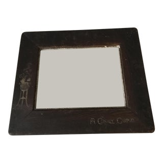 Early 20th Century Etched Picture Frame