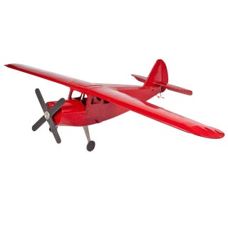 Extra Large-Scale Red Airplane Model For Sale