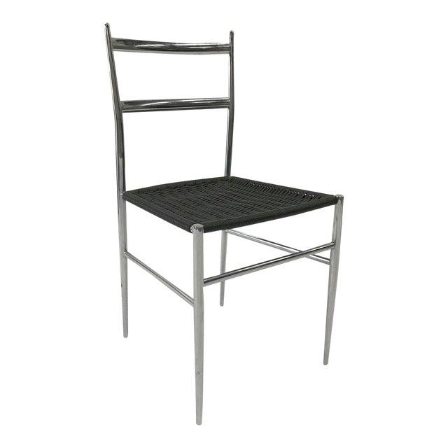 """Leggera"" Chrome Chair by Gio Ponti, 1960s For Sale"