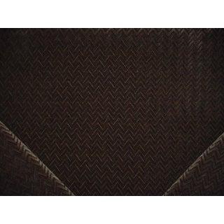 Kravet Couture Ensnared Scalloped Silk Velvet Upholstery Fabric - 5.25 Yards For Sale