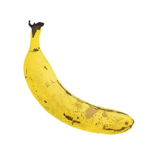 "Portrait of a Banana Graphic Fine Art Print - 30"" X 30"""