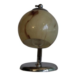 Petite Art Deco Table Lamp. For Sale