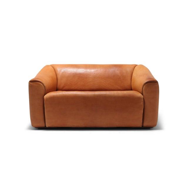 De Sede Ds 47 Cognac Leather Sofa For Sale - Image 12 of 12