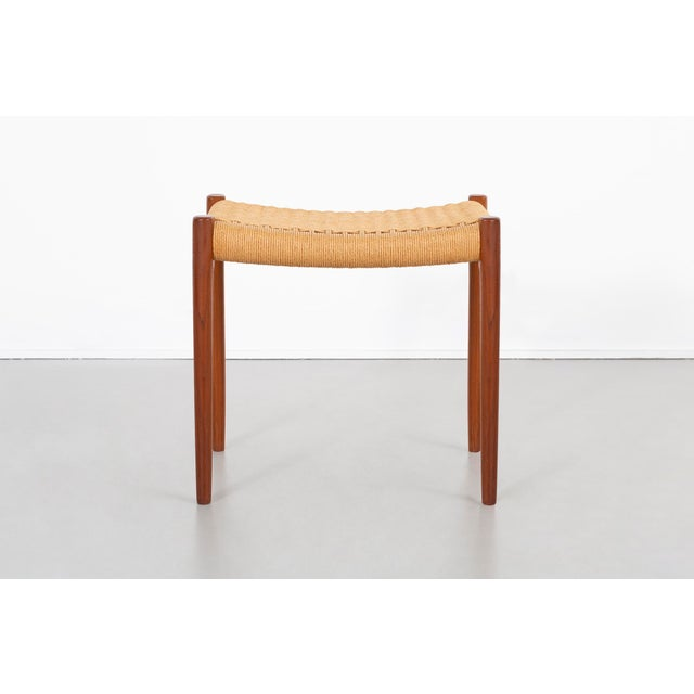 Mid-Century Modern Niels Moller Mid-Century Modern Stool For Sale - Image 3 of 9