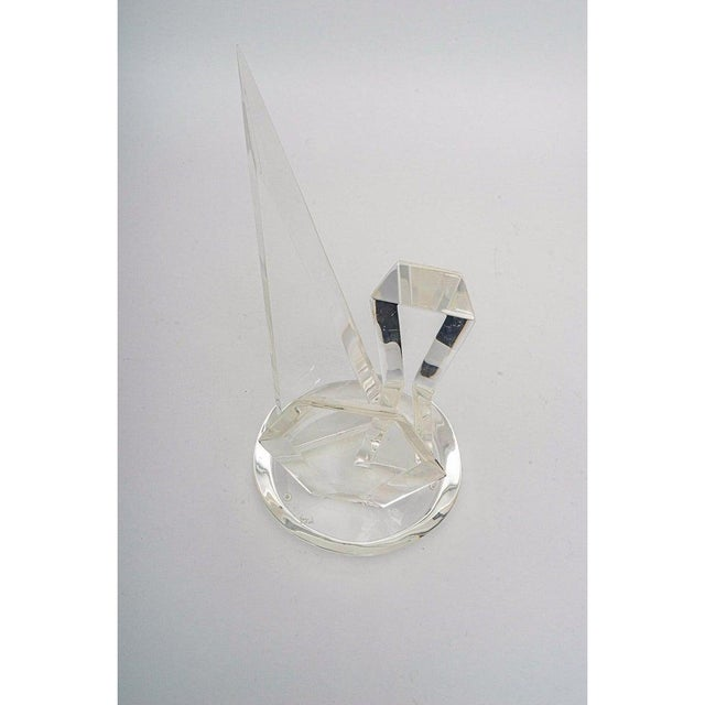 1970s Lucite Sculpture by Van Teal For Sale - Image 11 of 13
