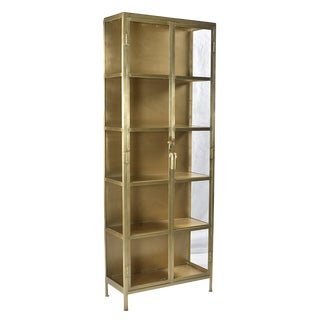 Brass Display Cabinet