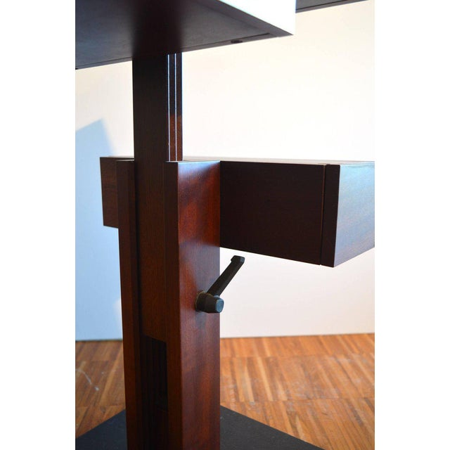 French Nightstand Side Table by Bernard Vuarnesson for Sculptures-Jeux in Paris, 1980 For Sale - Image 3 of 8