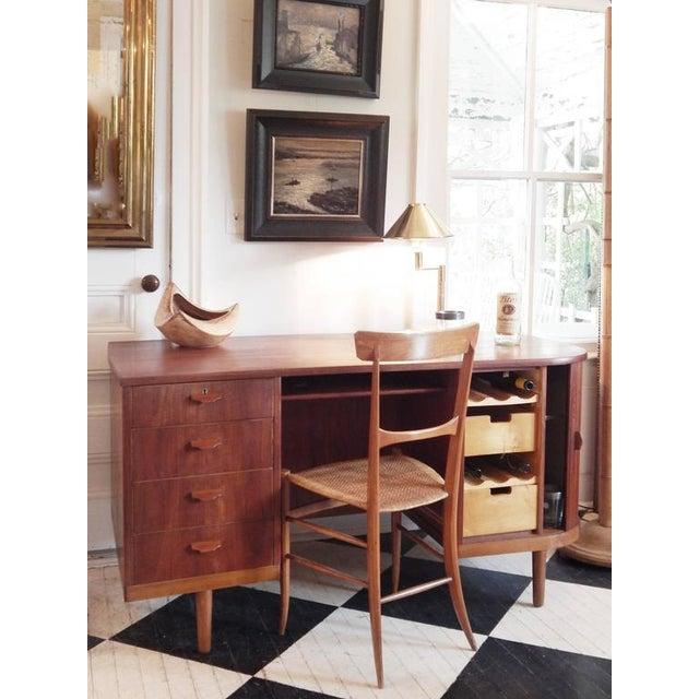 """Perfect Scandinavian """"Mad-Men"""" Desk - Image 10 of 10"""