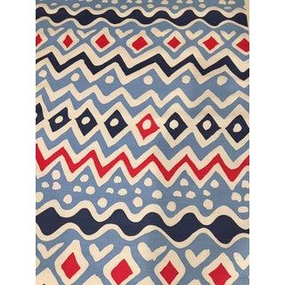 Alan Campbell / Quadrille Cap Ferrat Fabric For Sale